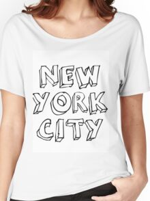 new york city Women's Relaxed Fit T-Shirt
