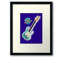 Hair Guitar Framed Print
