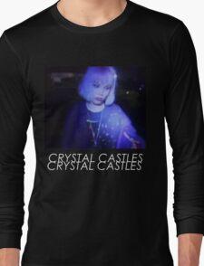 Crystal Castles Alice VHS filter coloradjust 3 Long Sleeve T-Shirt