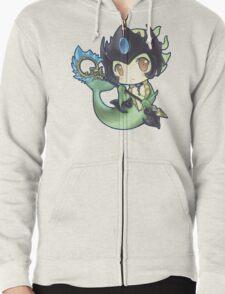 Cute Nami - League of Legends Zipped Hoodie