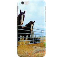 Draft Horses...Caldwell, Idaho iPhone Case/Skin