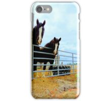 Draft Horses...Caldwell, Idaho iPhone Case/Skin