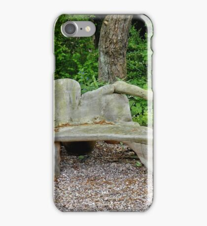 Carved Bench iPhone Case/Skin