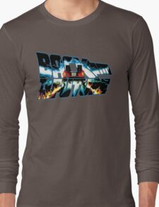 Back to the Future-Time travel Long Sleeve T-Shirt