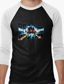 Back to the Future-Time travel Men's Baseball ¾ T-Shirt