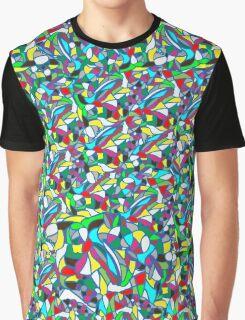 Mosaic Geometric background Graphic T-Shirt