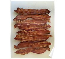 BACON LOVERS UNITE Poster