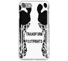 Transformers Footprints  iPhone Case/Skin