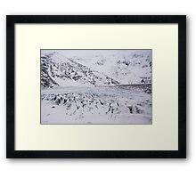 Icelandic Glacier Framed Print