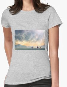 The Meeting Womens Fitted T-Shirt