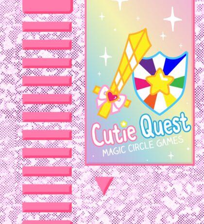Cutie Quest Cartridge Sticker