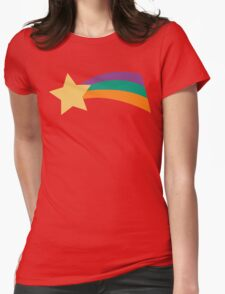Gravity Falls Rainbow Star Mabel Pines Womens Fitted T-Shirt