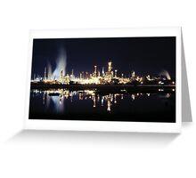 Martinez Shell Refinery Greeting Card