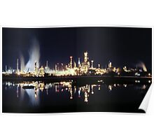 Martinez Shell Refinery Poster