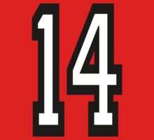 14, TEAM SPORTS, NUMBER 14, FOURTEEN, FOURTEENTH, Competition,  One Piece - Short Sleeve
