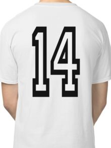 14, TEAM SPORTS, NUMBER 14, FOURTEEN, FOURTEENTH, Competition,  Classic T-Shirt