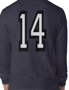 14, TEAM SPORTS, NUMBER 14, FOURTEEN, FOURTEENTH, Competition,  Long Sleeve T-Shirt