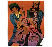 """Cowboy Bebop Family"" Poster"