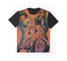 """Cowboy Bebop Family"" Graphic T-Shirt"