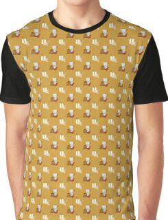 coffee pattern Graphic T-Shirt