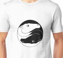Horse Yin Yang Unisex T-Shirt