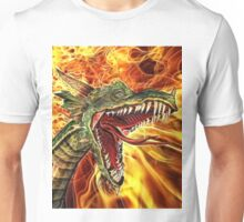 Flames of the Dragon Unisex T-Shirt