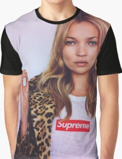 supreme kate moss Graphic T-Shirt
