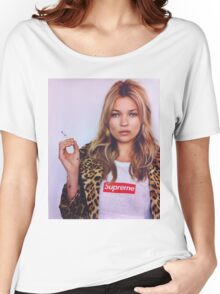 supreme kate moss Women's Relaxed Fit T-Shirt