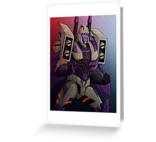 Blitzwing Greeting Card