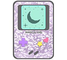 Magical Girl Game Console Photographic Print