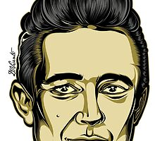 JOHNNY CASH by DVicente