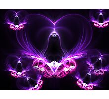 flying hearts  Photographic Print