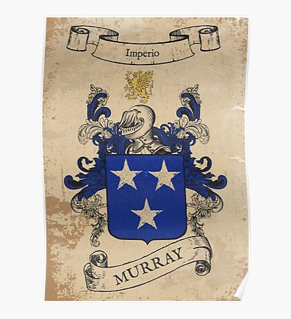 Murray Coat of Arms (Ireland) Poster