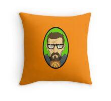 Half Life Gordon Freeman Throw Pillow