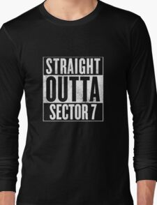 Straight Outta Sector 7 - Final Fantasy VII Long Sleeve T-Shirt