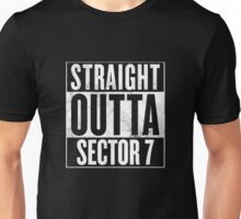 Straight Outta Sector 7 - Final Fantasy VII Unisex T-Shirt