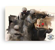 3-156 Infantry BN Canvas Print