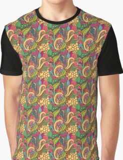 Floral seamless color bright Graphic T-Shirt