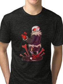 Underfell! Sans Tri-blend T-Shirt