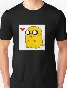 Pixelated Jake the Dog T-Shirt