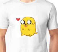 Pixelated Jake the Dog Unisex T-Shirt