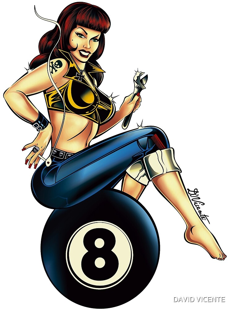 EIGHTBALL GIRL by DVicente