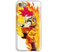 Goku Super Saiyan God iPhone Case/Skin