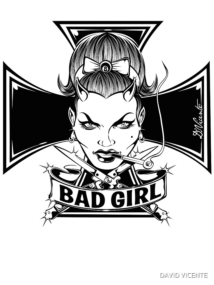BAD GIRL & IRON CROSS by DVicente