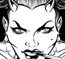 BAD GIRL & IRON CROSS Sticker