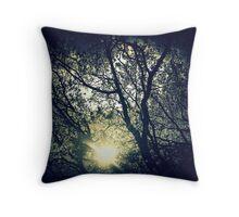 Twilight twinkle Throw Pillow