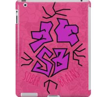 Sober Brains Graffiti iPad Case/Skin