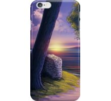 Path to Sunset Sea iPhone Case/Skin