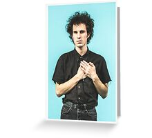 Swim Deep Ozzy Portrait Greeting Card