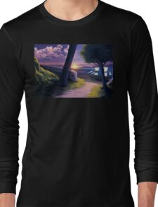 Path to Sunset Sea Long Sleeve T-Shirt
